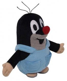 Plüschfigur Der kleine Maulwurf, mit Hose Grösse 12cm