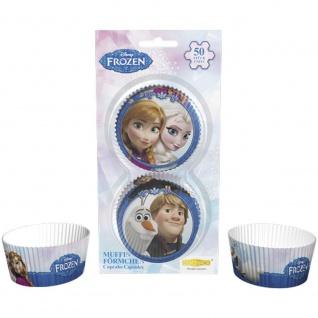 Muffinförmchen Frozen, 50 Stück