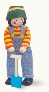 Puppe Pappa im Gärtnerlook