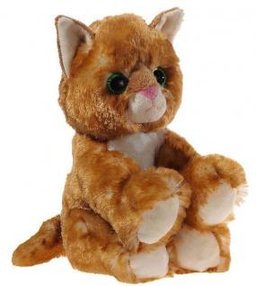GLITTER-KITTY Katzen-Baby, gold Grösse 20 cm