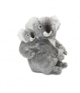 Plüschtier WWF Koalamutter mit Baby, 28cm