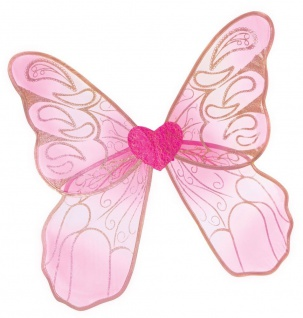Paisley Feenflügel, pink, für Kinder