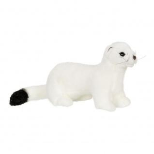 Plüschtier WWF Hermelin, weiß, Grösse 24cm