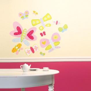 Wandaufkleber Wallies Großes Gemälde(BigMural XL) Schmetterlinge B-Ware