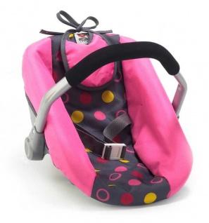 Puppen-Autositz Funny Pink