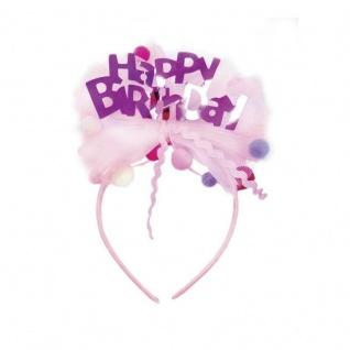 Happy Birthday Haarreif - Haarschmuck für Kinder
