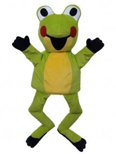 Handpuppe Frosch aus der TV-Serie Der kleine Maulwurf, 37 cm