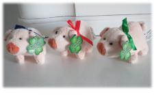 Glücks-Schweinchen - 9cm Glücksschwein als kleiner Glücksbote