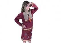 Indianerkostüm Mädchen Grösse 128