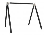 Doppelschaukel - Schaukelgestell Holz KDI grundiert Luxus 1.2