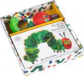 Die kleine Raupe Nimmersatt Pappbilderbuch mit Stoffrassel