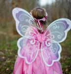 Herzchen-Flügel rosa