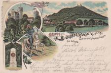 Ansichtskarte Gruss aus Görlitz, ein altes Original, PLZ 02827