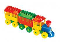 Baustein Eisenbahn 2 Wagons