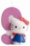 Kuchenkerze Hello Kitty Zahl 9