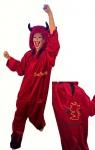 Karneval Kostüm Teufel, für Erwachsenene
