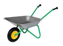 Kinder-Metallschubkarre, Kinderschubkarre Air Tyre für Kinder