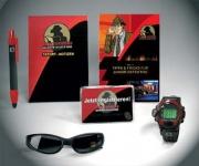 Underground LCD-Uhr & Sonnen- brillen-Set