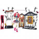 Mattel Monster High Schaurig schöne Show, Rochelle Goyle und Monster-Manege