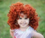 Haarreifen Rote Locken für Kinder