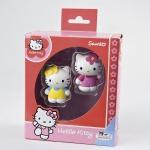 2 Spielfiguren Hello kitty und Hello Kitty Mimmy