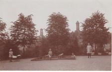 Ansichtskarte Auerbach Vogtland, ein altes Original, PLZ 08209