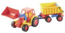Traktor mit Schaufel und Anhänger - BASICS von wadertoys