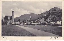 Ansichtskarte Marktplatz Anger, ein altes Original