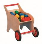 Schubkarre aus Holz, für Kinder