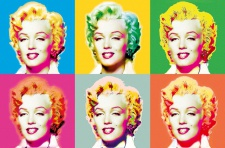 XXL Poster Kunst Pop Art, Marilyn Monroe