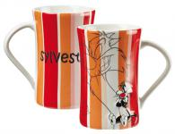 Looney Tunes Relief Tasse, gestreift