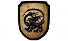 Wappenschild Drachen