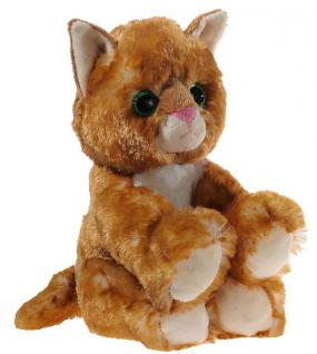 GLITTER-KITTY Katzen-Baby, gold