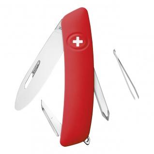 Kinder-Taschenmesser J02 R JUNIOR rot aus der Swiza