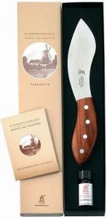 Parmoulin mit Olivenholz, Klinge 130 mm