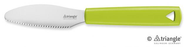 Brunchmesser Green Grip 100 % ECO Material triangle® aus Solingen