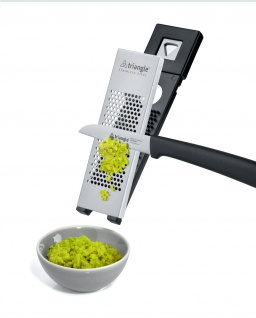 Aromareibe Ingwer / Zitronenreibe von triangle® aus Solingen