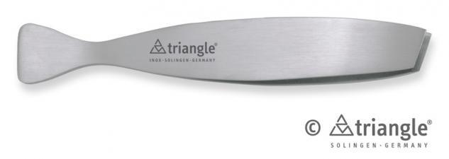 Grätenpinzette schräg, von triangle® aus Solingen