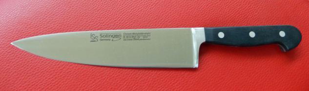 Kochmesser 20 cm geschmiedet von ISS Solingen