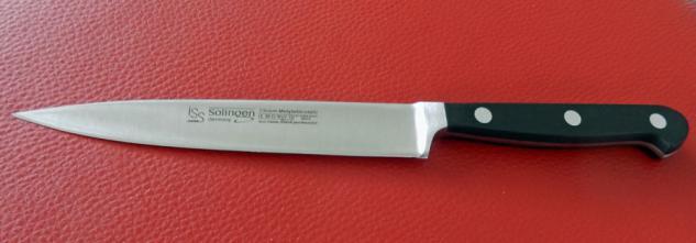 Filier Messer Filitiermesser 15 cm - X50 Cr Mo V15 von ISS Solingen
