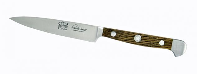 Güde Spickmesser- Küchenmesser 10cm - Alpha Faßeiche