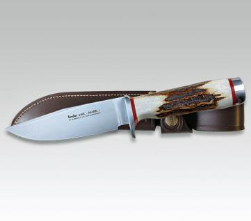 Jagdmesser Mark 1+2 Hirschhorn von Linder aus Solingen - Vorschau