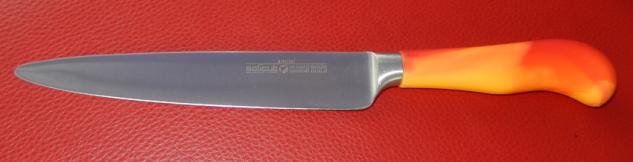 Kindermesser Zubereitungsmesser Schinkenmesser für die Küche Klingenlänge 17 cm.