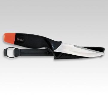 Schwimmendes Fischmesser 11 cm. von Linder aus Solingen