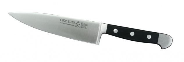 Güde Kochmesser Serie Alpha - 16 cm. aus Solingen