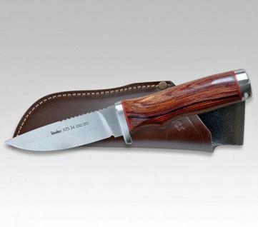 Linder Jagdmesser ATS34 Hunter aus Solingen