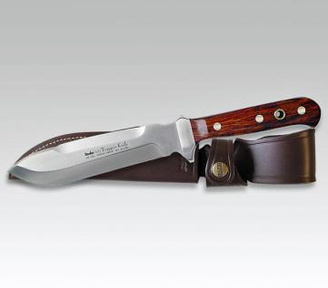 Linder Trapper Messer Knife Jagdmesser Cocoboloholz - 420 Stahl, 15 cm