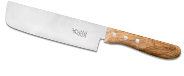 """Windmühlenmesser Kochmesser Küchenmesser """" Nakiri"""" OLIVE SPEZIAL Oolive aus Solingen"""