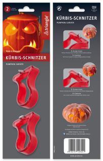 Kürbis Schnitzer Set, 2-tlg. triangle® aus Solingen