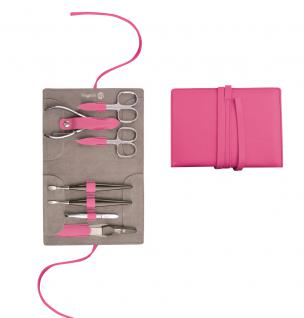 Maniküre Etui von Niegeloh Decora XL 7tlg- pink lady aus Solingen